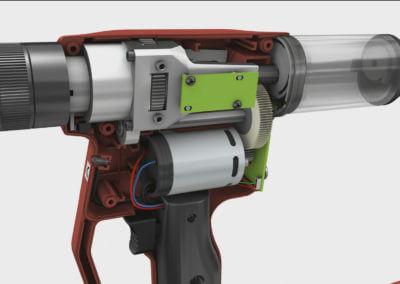 3D Animation TIOS EL 18 Nietgerät