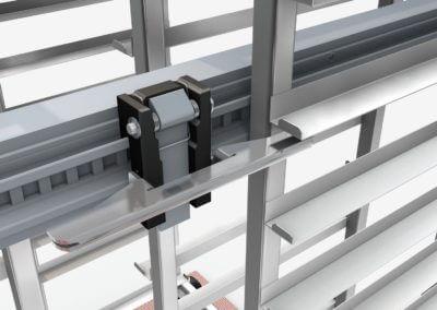 3D Bilder, Titgemeyer Ladungssicherung von Transportgestellen auf Rollen