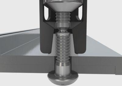 3D Animation Blindniet Setzvorgang
