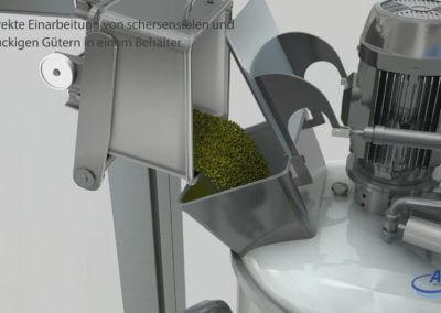 3D Animation: Prozessanlage für die Lebensmittel-, Kosmetik-, Chemie- und Pharmaindustrie.