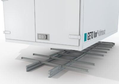 3D Bilder GETO Van Kofferbausatz Bodengruppe, Fahrzeugbau