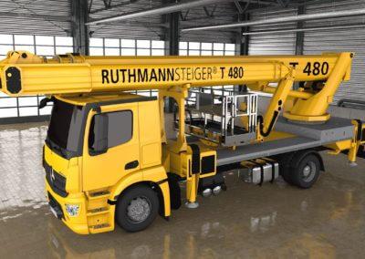 3D Bilder eines Ruthmann Steigers
